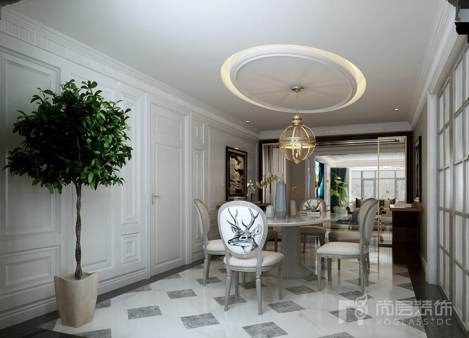 渗透进高级灰内涵与底蕴的世界,美得令人震撼。本案为海德公园别墅装修设计项目,以低调的高级灰为主色调,冷静而克制。素简的白、优雅的浅棕与散发迷人金属感的铜结合进口家具以及当代饰品点缀其中,形成独特空间气质,造就了一个诗意的存在。客厅
