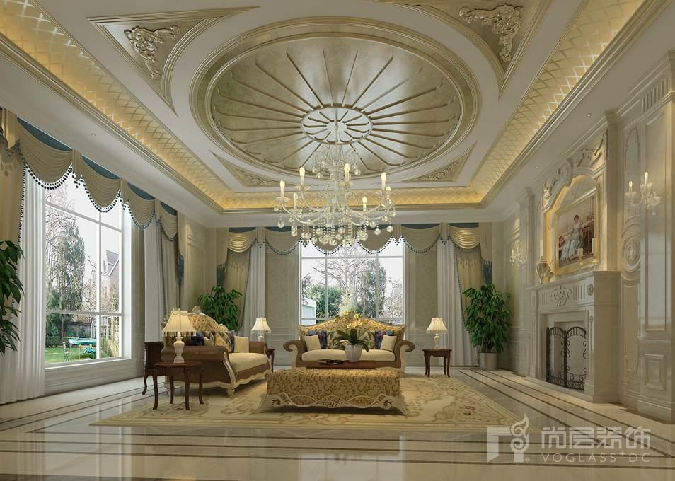 龙熙顺景欧式新古典家庭室别墅装修效果图