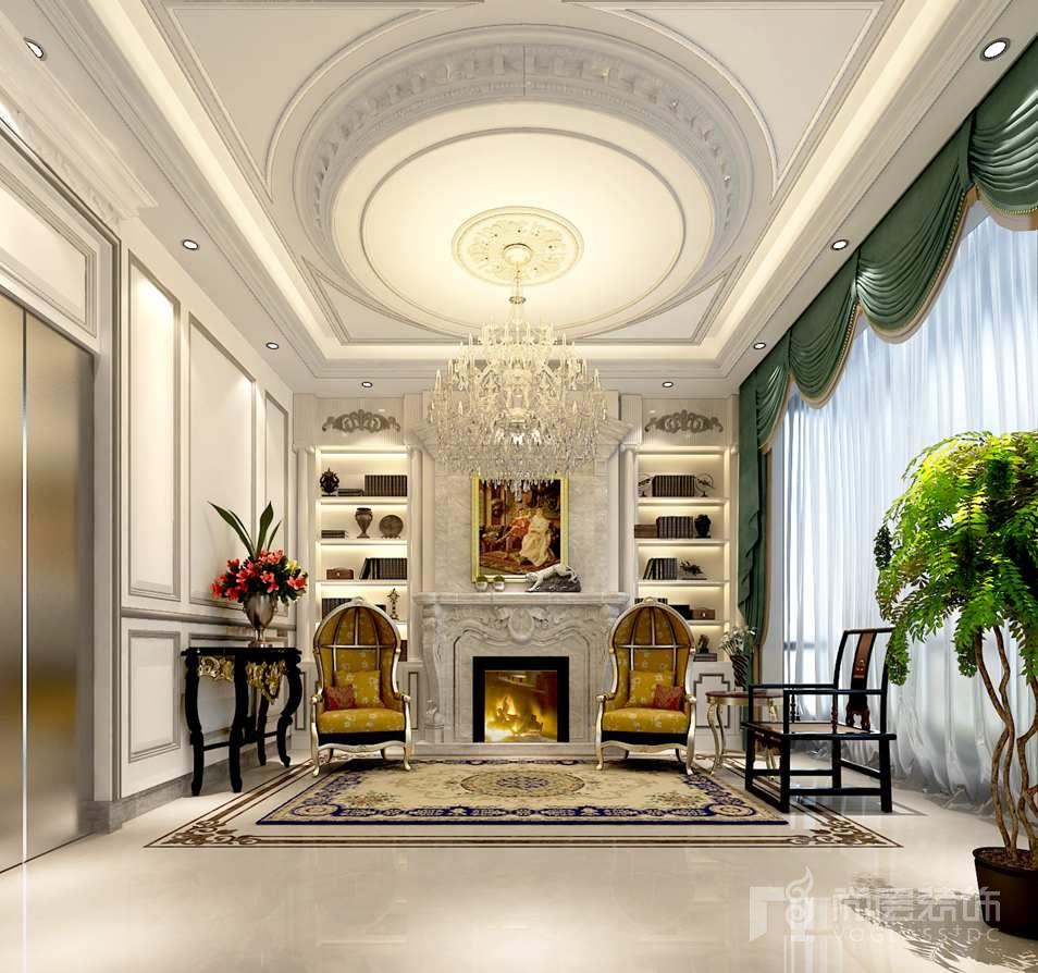 香港别墅欧式家庭室别墅装修效果图