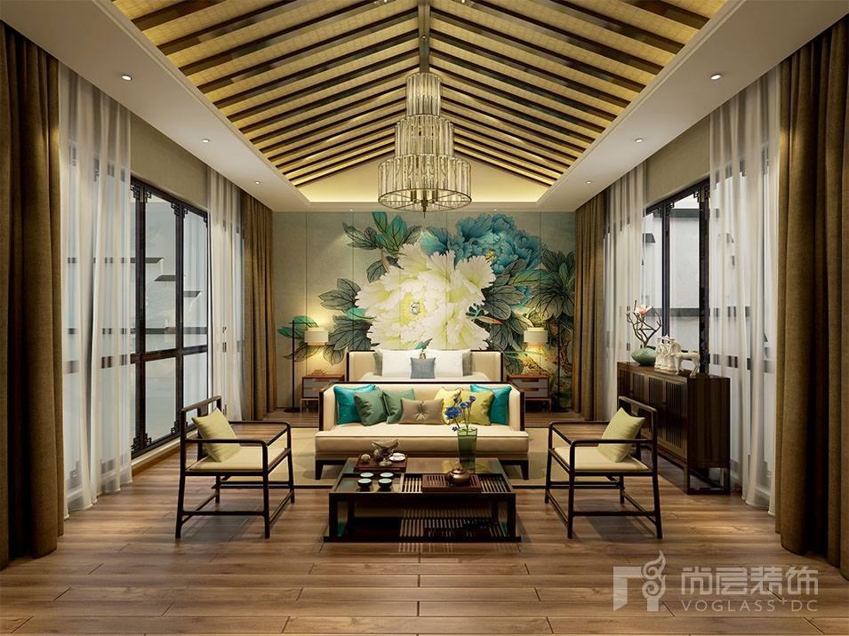 别墅装修—别墅设计小编为你讲解中式别墅风格案例