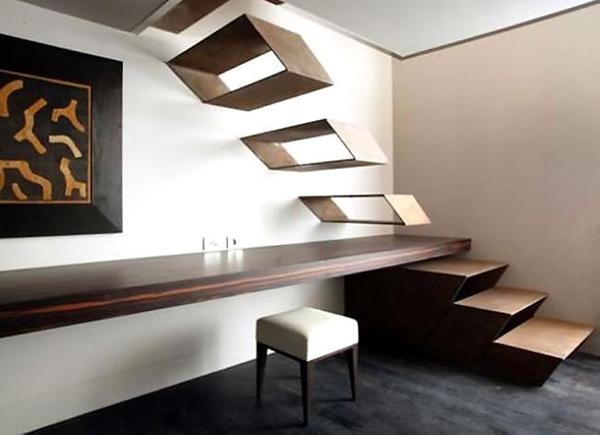 别墅楼梯创意设计 时尚,艺术不做作