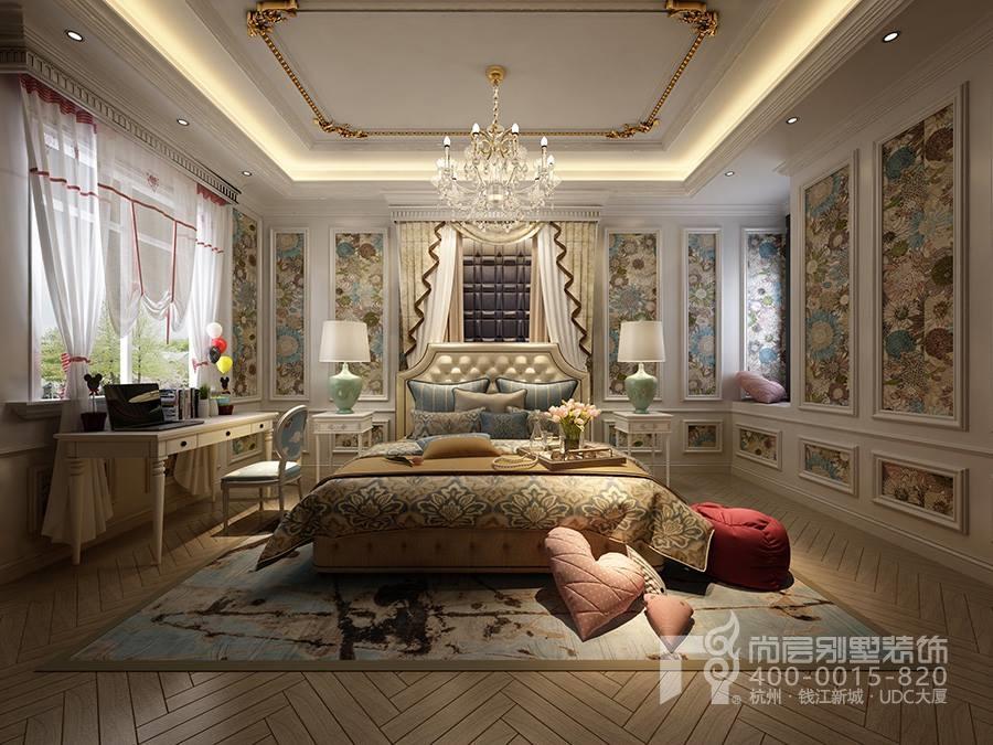 △排屋别墅装修欧式风格女儿房装修