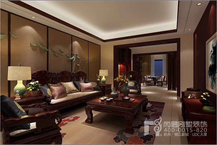 西溪玫瑰园别墅排屋装饰设计-杭州尚层装饰