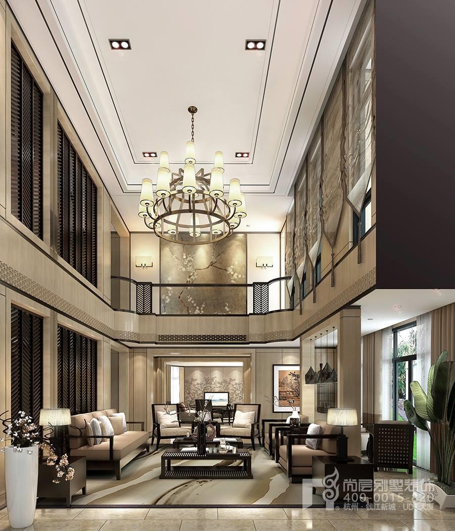 的设计费在全部别墅装修费用中可以说占比是比较小的.