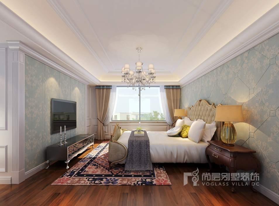 中海尚湖世家欧式卧室别墅装修效果图