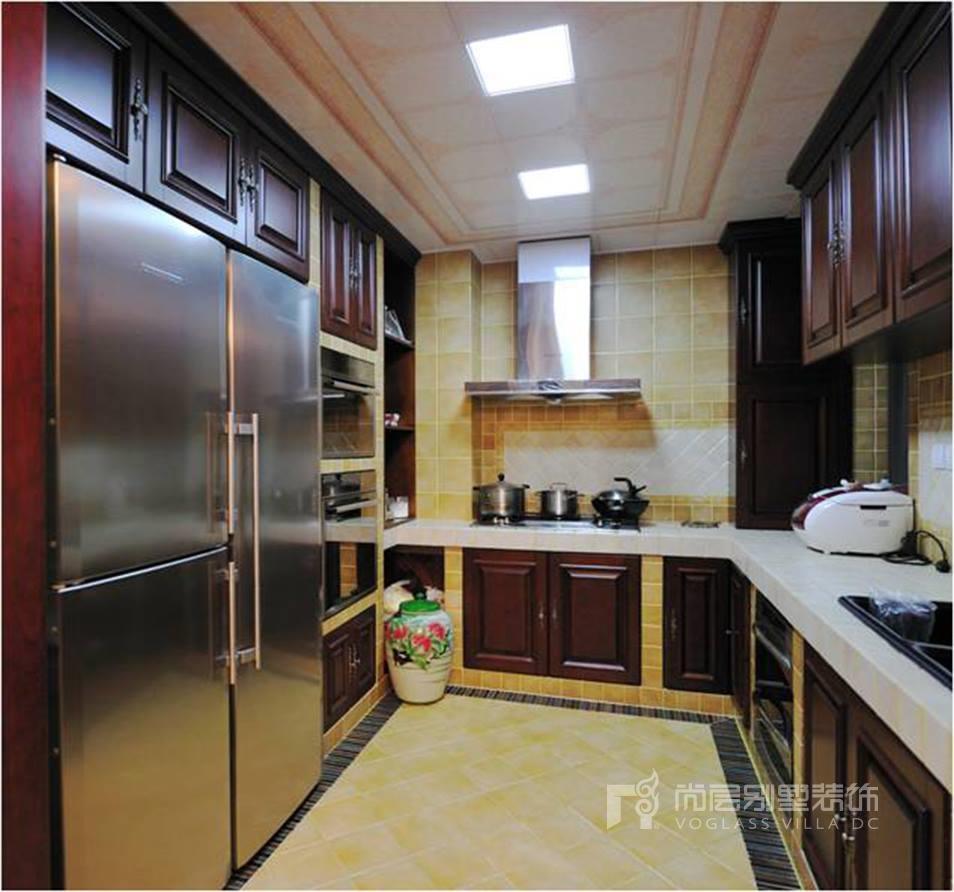 京基领域欧式古典风格厨房效果图图片