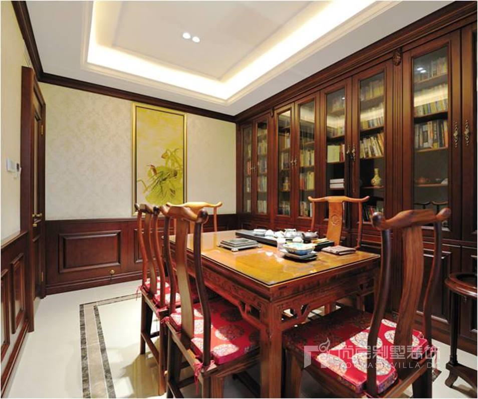京基领域欧式古典风格会客厅效果图