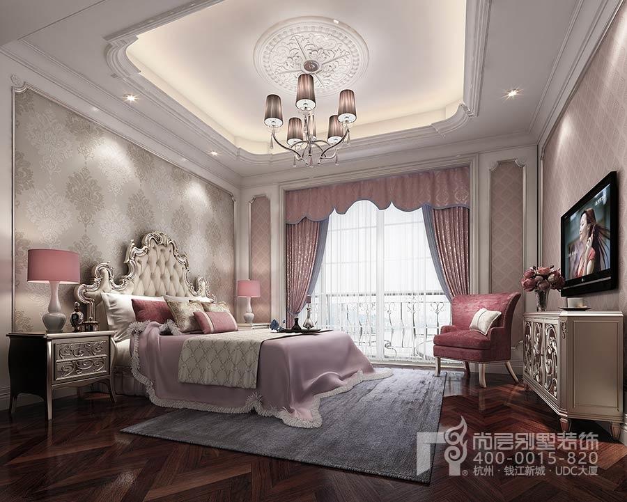 杭州尚层装饰小型别墅装修设计女儿房