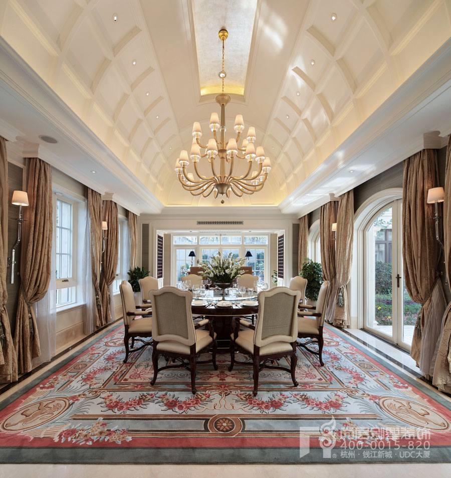杭州尚层装饰欧式风格别墅装修案例
