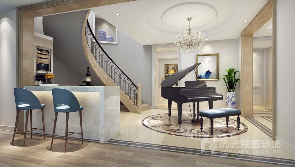 楼梯水吧间设计效果图图片