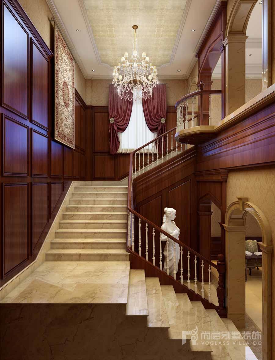 6款别墅楼梯间设计效果图,感悟设计师的别样灵感