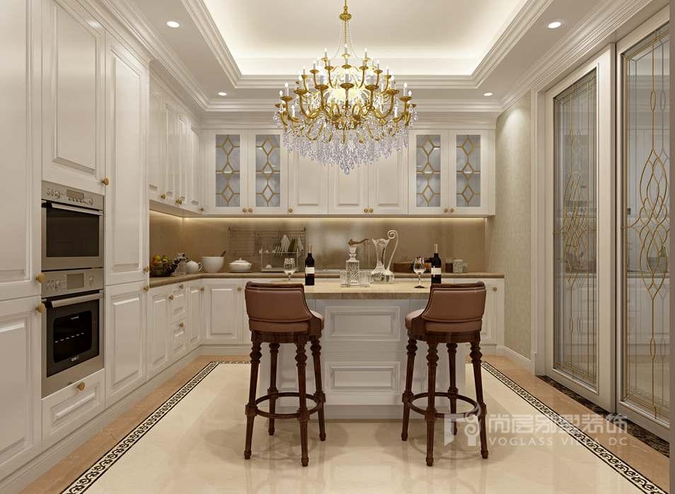 亚运新新家园别墅欧式西厨装修效果图