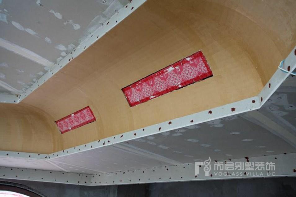 尚层装饰安装空调保护膜
