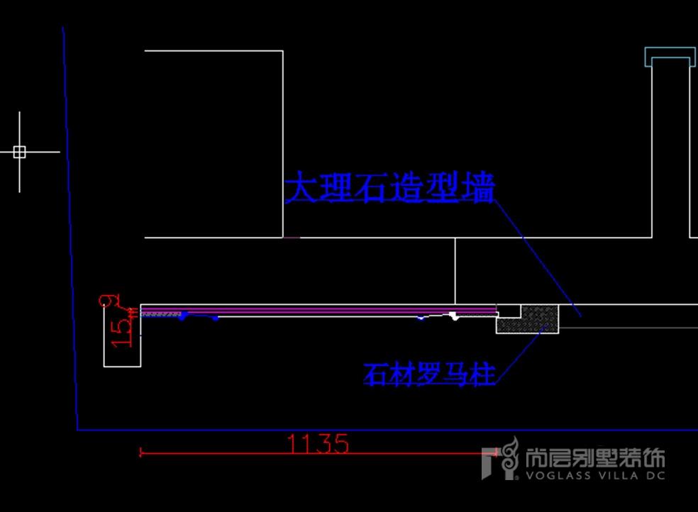平面图设计要求          (1)与之相关部位的墙体布局          (2)基